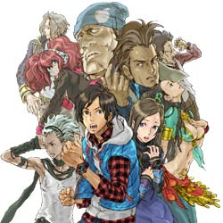 The characters of 999: Nine Hours, Nine Persons, Nine Doors