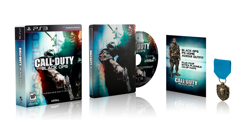 Call of Duty:Black Ops Hardened edition