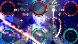Gameplay from DanceDanceRevolution for PS3