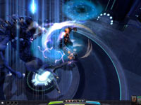 Gameplay screen from Darkspore