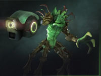 A creature creation from Darkspore