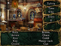 Hidden object gameplay from Chronicles Of Mystery: The Secret Tree of Life