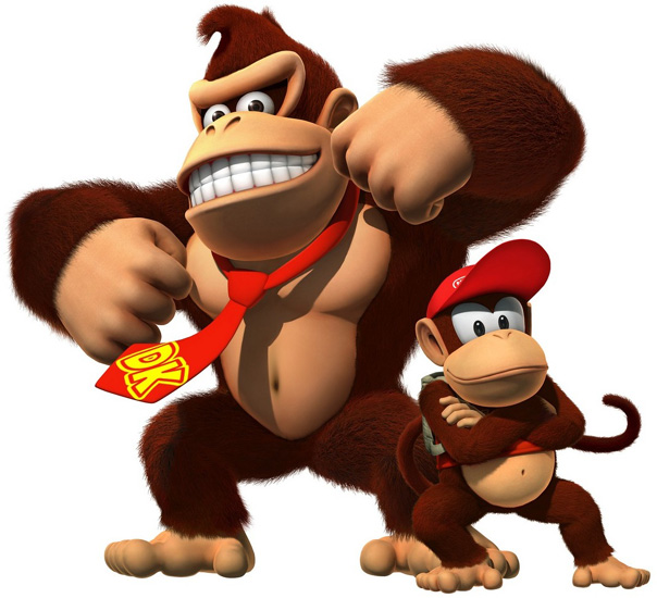 Join Donkey Kong and sidekick Diddy in a whole new side-scrolling