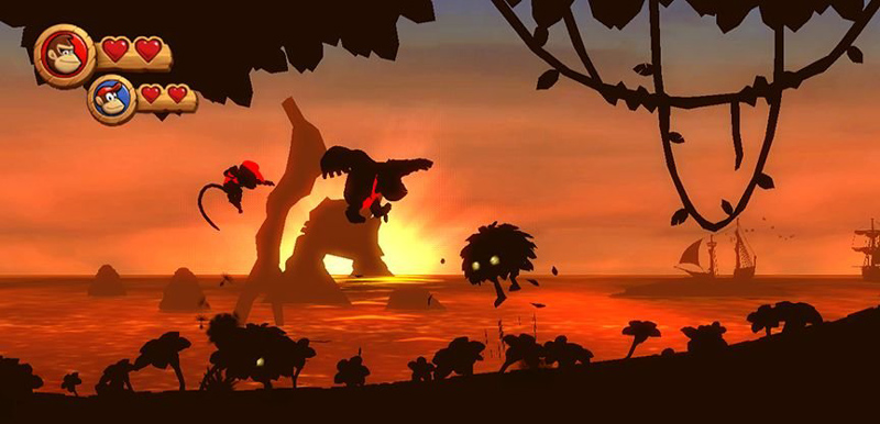 Amazoncom Donkey Kong Country Returns Video Games