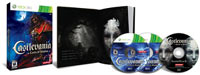 Castlevania: Lords of Shadow Limited Edition box contents for Xbox 360