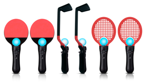 6 In 1 Competition Sports Pack for PlayStation Move from CTA Digital
