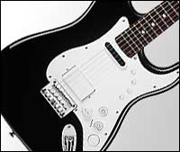Squier by Fender Stratocaster Guitar and Controller
