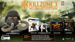 Killzone 3: Helghast Edition box contents