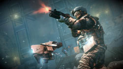 Fighting in the open in Killzone 3: Helghast Edition