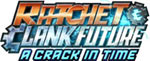 Ratchet & Clank Future: A Crack in Time game logo