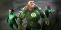 Fight with other Lanterns