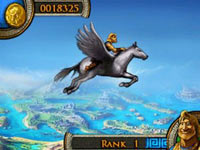 Adventure gameplay screenshot from Jewels of Olympus