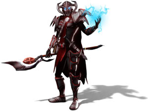 Art depicting the Dungeon Lord from Dungeons