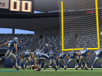Going for the extra point conversion in Madden NFL Football 3DS