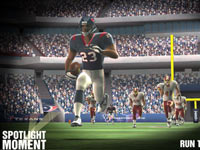 Spotlight Moment Functionality from Madden NFL Football 3DS