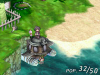 A Phantom Island scene from Phantom Brave: Heroes of the Hermuda Triangle