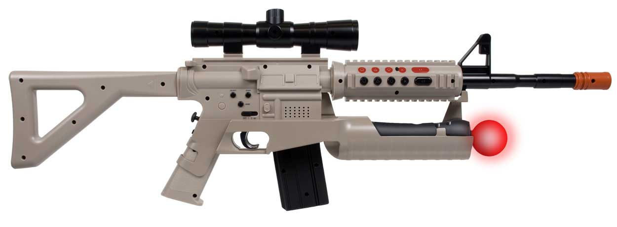 Playstation Move Assault Rifle Controller