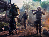 A sniper teamed with additional character types in mission play in Sniper: Ghost Warrior for PS3