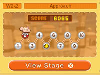 Franchise famous puzzle play from Super Monkey Ball 3D