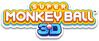 Super Monkey Ball 3D game logo