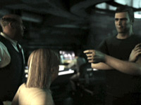 Cinematic cutscene from Tom Clancy's Splinter Cell 3D