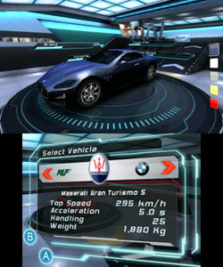The Maserati Gran Turismo 5 from Asphalt 3D