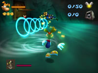 Rayman 3D gameplay screen #1