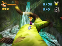 Rayman 3D gameplay screen #2