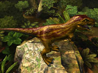 T. Rex from Combat of Giant Dinosaurs 3D
