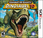 Combat of Giant Dinosaurs 3D game box