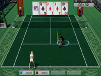4-player party game from Virtua Tennis 4 for Wii