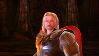 Play as Thor and wield his legendary hammer