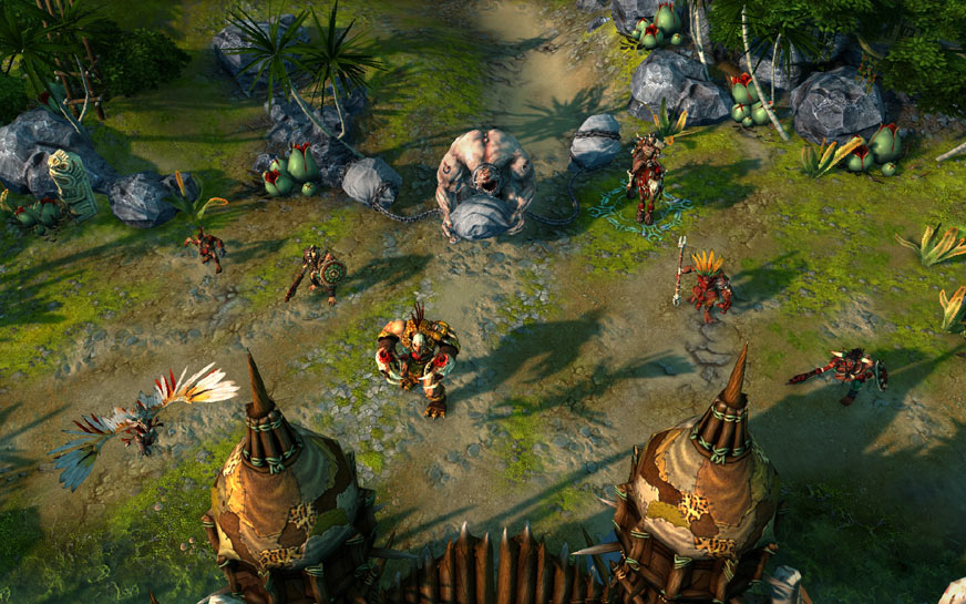 Stronghold faction attack in Might and Magic Heroes VI