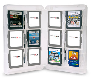 A sensible solution to organizing and protecting your DS/ 3DS cartridge collection