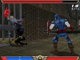Screenshot one from Captain America: Super Soldier for Nintendo 3DS