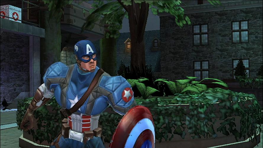 captain america free games
