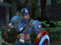 Screenshot one from Captain America: Super Soldier for Wii