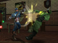 Screenshot two from Captain America: Super Soldier for Wii