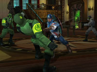 Screenshot three from Captain America: Super Soldier for Wii