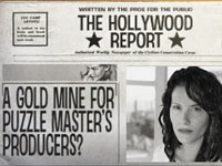 In-game newspaper from James Noirs Hollywood Crimes