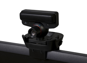A sturdy, adjustable PlayStation Eye and Kinect Camera mounting clip