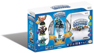 The Skylanders Spyro's Adventure Starter Pack for Wii