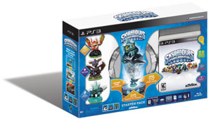 The Skylanders Spyro's Adventure Starter Pack for PS3