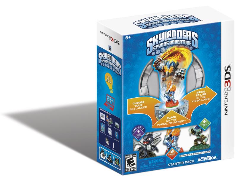 Skylanders Spyro's Adventure 3DS