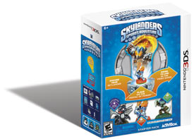 The Skylanders Spyro's Adventure Starter Pack for Nintendo 3DS