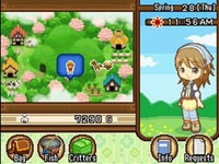 A mining activity screenshot from Harvest Moon: Tale of Two Towns