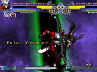 BlazBlue Continuum Shift II fatal counter screenshot