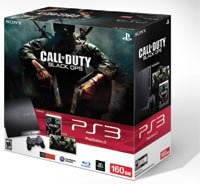 PlayStation 3 160GB Call of Duty: Black Ops bundle box