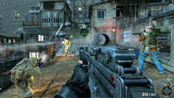 Screenshot from the Kowloon multiplayer map from Call Of Duty: Black Ops First Strike content pack 1