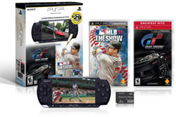 PSP-3000 Limited Edition Father's Day Bundle Entertainment Pack